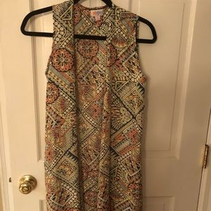 Lularoe Joy Vest.  Like new.  Worn once.